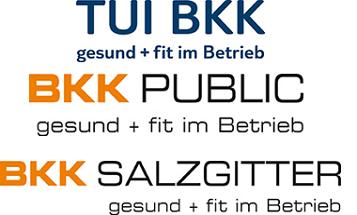 Beitritt der BKK Salzgitter, BKK Public und TUI BKK